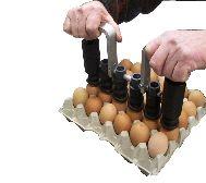 Egg Flex 6 radig äggstämpel